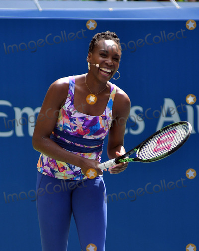 Arthur Ash Photo - August 27 2016 New York CityTennis Player Venus Williams appeared at the 2016 Arthur Ashe Kids Day at the USTA Billie Jean King National Tennis Center on August 27 2016 in New York City By Line Curtis MeansACE PicturesACE Pictures IncTel 6467670430