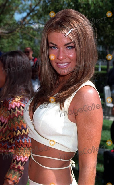 Photos And Pictures 19jul97 New Baywatch Star Carmen Electra At The Premiere In Hollywood Of Her New Movie Good Burger Carmen Is A Singer With Prince And Has Appeared In A