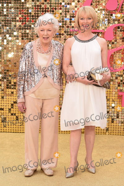 June Whitfield Photo - June Whitfield at the World Premiere of Absolutely Fabulous The Movie at the Odeon Leicester Square LondonJune 29 2016  London UKPicture Steve Vas  Featureflash