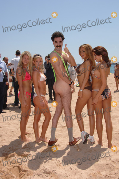 Ali G Photo - Comedian SACHA BARON COHEN (aka ALI G  BORAT) on the beach in Cannes to promote his new movie Borat at the 59th Annual International Film Festival de CannesPlot Outline Kazakhstani TV talking head Borat (Cohen) is dispatched to the United States to report on the greatest country in the world With a documentary crew in tow Borat becomes more interested in locating and marrying Pamela AndersonMay 24 2006  Cannes France 2006 Paul Smith  Featureflash
