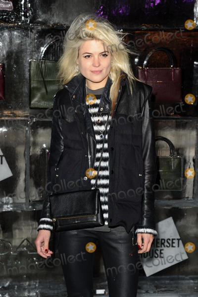 Alison Mosshart Photo - Alison Mosshart arriving for the opening of the Somerset House Ice Rink 2013 London 14112013 Picture by Steve Vas  Featureflash