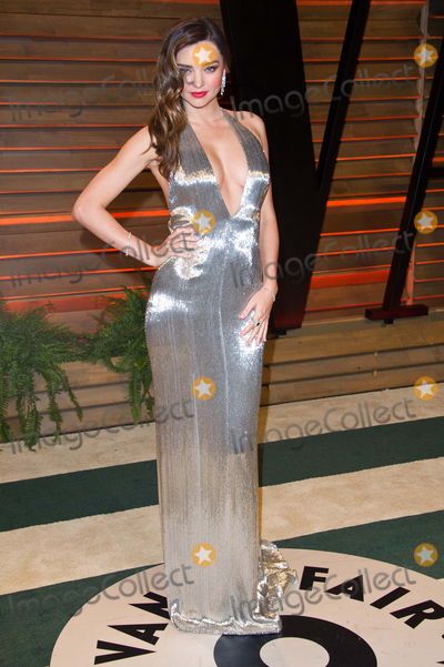 Photo - Miranda Kerr arriving for the 2014 Vanity Fair Oscars Party Los Angeles 02032014 Picture by James McCauleyFeatureflash