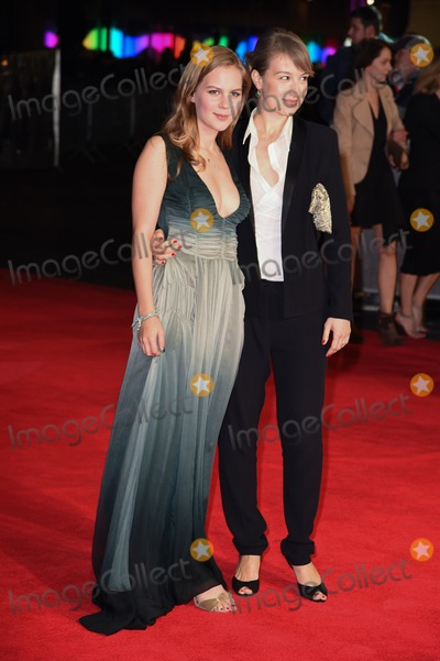 Anamaria Marinca Photo - Alicia Von Rittberg and Anamaria Marinca arrives for the premiere of  Fury the closing Gala  of the Bfi London Film Festival 2014 at the Odeon Leicester Square London 19102014 Picture by Steve Vas  Featureflash