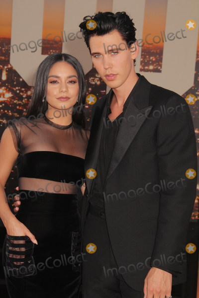 Photo - Vanessa Hudgens Austin Butler 07222019 The Los Angeles Premiere of Once Upon A Time In Hollywood held at the TCL Chinese Theatre in Los Angeles CA Photo by Izumi Hasegawa  HollywoodNewsWireco