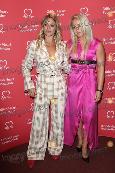 Aimee Fuller Photo - London UK   Laura Crane and Aimee Fuller  at British Heart Foundations Heart Hero Awards at the Underglobe Bankside 20th September 2019RefLMK73-S2370-210919Keith MayhewLandmark Media WWWLMKMEDIACOM