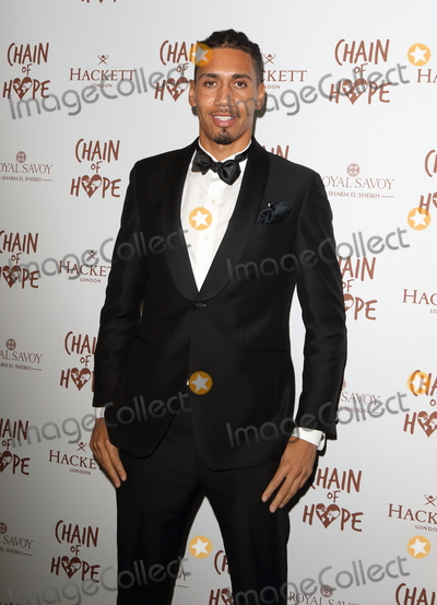 Photo - London UK  Chris Smalling  at the Chain Of Hope Ball at Old Billingsgate Lower Thames Street London 16 November 2018 RefLMK73-S1930-171118Keith MayhewLandmark Media WWWLMKMEDIACOM