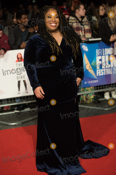 Angie Thomas Photo - London UK Author Angie Thomas at  the Special Presentation and European Premiere of The Hate U Give  at The 62nd BFI London Film Festival at Cineworld Leicester Square London England UK on Saturday 20 October 2018 Ref  LMK370-S1696-211018Justin NgLandmark MediaWWWLMKMEDIACOM