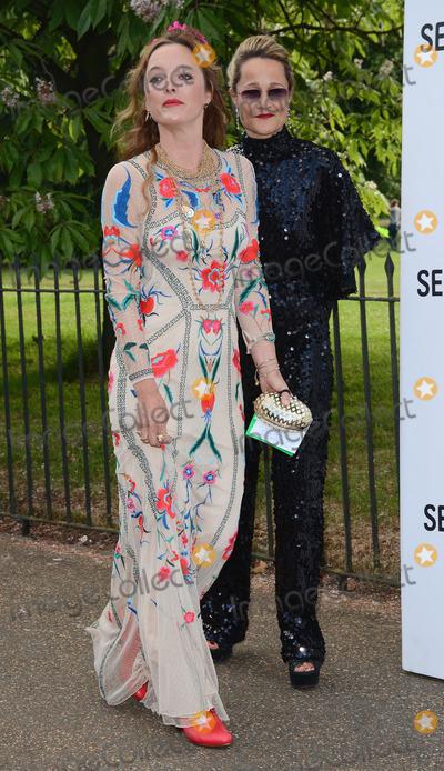 Alice Temperley Photo - London UK  Alice Temperley and Guest   at The Serpentine Gallery Summer Party at The Serpentine Gallery Kensington Gardens London 1st July 2014Ref LMK392 -48991-030714Vivienne VincentLandmark Media WWWLMKMEDIACOM