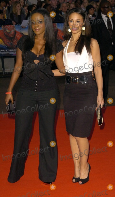 Amelle Berabah Photo - London UK Keisha Buchanan and Amelle Berabah at the Spider_Man 3 UK premiere at the Odeon Leicester Square Cinema 23rd April 2007 Can NguyenLandmark Media