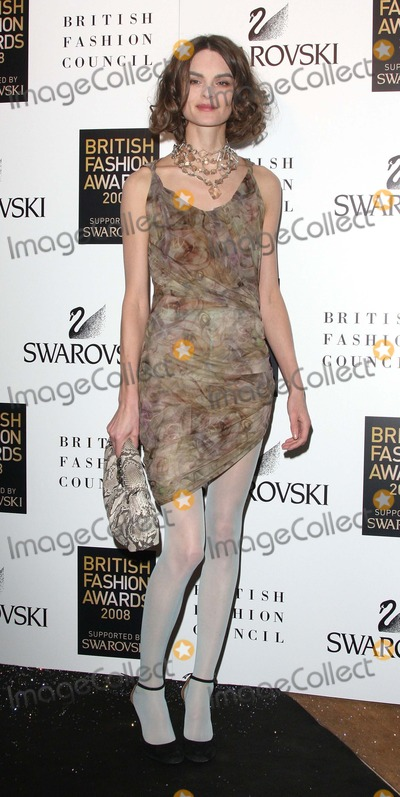 Anouk Lepere Photo - London UK  Anouk Lepere at the British Fashion Awards held at the Lawrence Hall in London 25th November 2008Keith MayhewLandmark Media