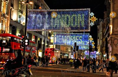 Photos From Christmas 2020 - Oxford Street Christmas lights