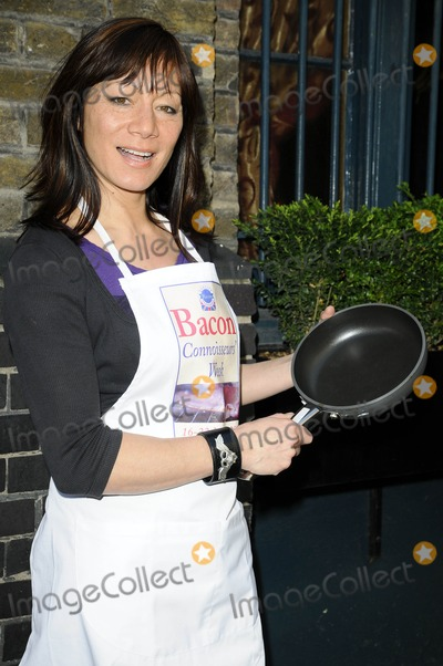 Anna Ryder Richardson Photo - London UK Anna Ryder Richardson at the Bacon Connoisseurs Week 2009 launch held at the Bleeding Heart Restuarant Bleeding Hart Yard in London 16th March 2009Can NguyenLandmark Media