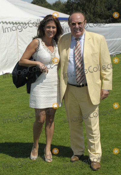 Andrew Neil Photo - Windsor Berkshire UK Susan Nilsson and Andrew Neil at the Cartier International Polo At Windsor Great Park  24th July 2011SydLandmark Media
