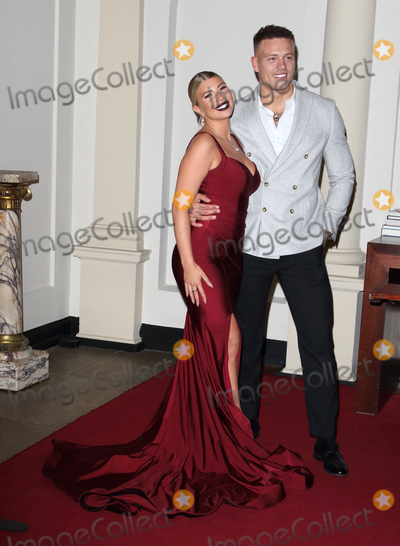 Photo - London UK Olivia Buckland and Alex Bowen  at The Best Heroes Awards 2019 at The Bloomsbury Hotel London on October 15th 2019Ref LMK73-J5617-161019Keith MayhewLandmark MediaWWWLMKMEDIACOM