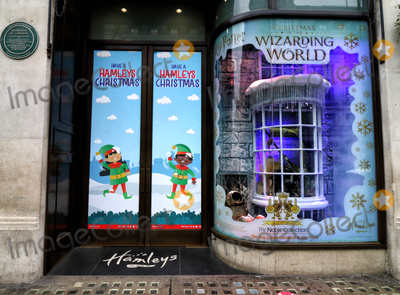 Photo - London UK Its Beginning to look like Christmas as stores and streets are decorated for the festive season despite the current Second Lockdown in force London November 19th 2020Ref LMK73-J6991-201120Keith MayhewLandmark MediaWWWLMKMEDIACOM