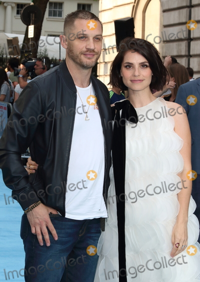 Photo - London UK Charlotte Riley and Tom Hardy at Swimming With Men UK Premiere at the Curzon Mayfair London on July 4th 2018Ref LMK73-J2258-050718Keith MayhewLandmark MediaWWWLMKMEDIACOM