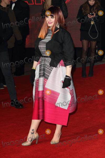 Ana Matronic Photo - London UK Ana Matronic at Star Wars Episode VIII The Last Jedi European Premiere at the Royal Albert Hall Kensington Gore London on Tuesday 12 December 2017Ref LMK73-J1294-131217Keith MayhewLandmark MediaWWWLMKMEDIACOM
