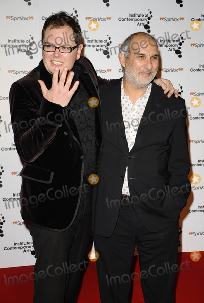 Alan Yentob Photo - London UK Alan Carr and Alan Yentob at the Figures of Speech ICA Annual Gala held at The Brewery in London 26th March 2009--270309Can NguyenLandmark Media
