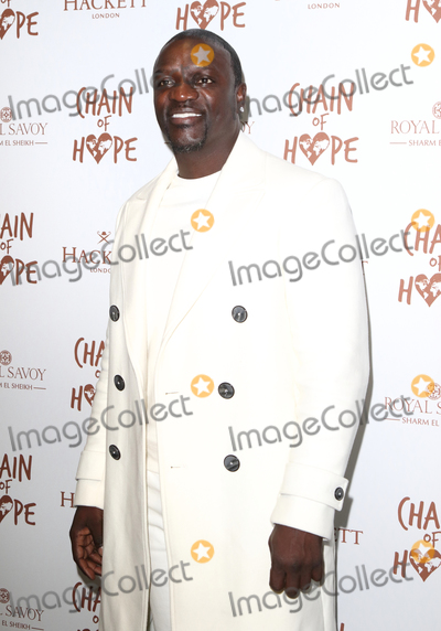 Photo - London UK Akon  at the Chain Of Hope Ball at Old Billingsgate Lower Thames Street London 16 November 2018 RefLMK73-S1930-171118Keith MayhewLandmark Media WWWLMKMEDIACOM
