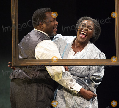 Wendell Pierce Photo - London UK  Wendell Pierce and Sharon D Clarke  at the photo call for the Arthur Miller classic Death of a Salesman at the Piccadilly theatre West End London 1st November 2019 RefLMK386-S2535-011119 Gary MitchellLandmark Media WWWLMKMEDIACOM