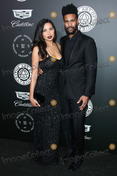 Photo - (FILE) Jurnee Smollett Files for Divorce From Josiah Bell After Nearly 10 Years of Marriage SANTA MONICA LOS ANGELES CALIFORNIA USA - JANUARY 06 Actress Jurnee Smollett-Bell and husbandmusician Josiah Bell arrive at The Art Of Elysiums 11th Annual Heaven Gala held at the Barker Hangar on January 6 2018 in Santa Monica Los Angeles California United States (Photo by Xavier CollinImage Press Agency)