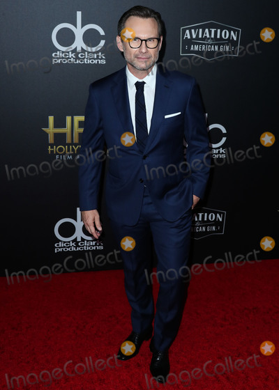 Photo - BEVERLY HILLS LOS ANGELES CA USA - NOVEMBER 04 Christian Slater at the 22nd Annual Hollywood Film Awards held at The Beverly Hilton Hotel on November 4 2018 in Beverly Hills Los Angeles California United States (Photo by Xavier CollinImage Press Agency)