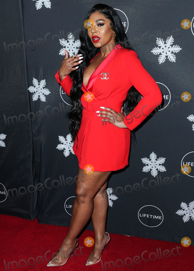 Photo - WESTWOOD LOS ANGELES CALIFORNIA USA - OCTOBER 22 Singer Ashanti Douglas arrives at the Its A Wonderful Lifetime Holiday Party held at STK Los Angeles at W Los Angeles - West Beverly Hills on October 22 2019 in Westwood Los Angeles California United States (Photo by Xavier CollinImage Press Agency)