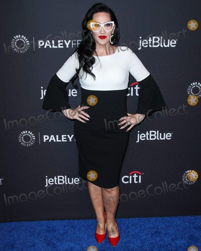 Photo - HOLLYWOOD LOS ANGELES CA USA - MARCH 17 Singer Michelle Visage arrives at the 2019 PaleyFest LA - VH1s RuPauls Drag Race held at the Dolby Theatre on March 17 2019 in Hollywood Los Angeles California United States (Photo by Xavier CollinImage Press Agency)