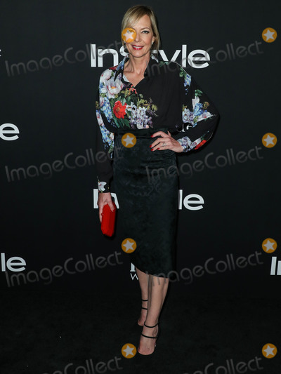 Antonio Marras Photo - LOS ANGELES CA USA - OCTOBER 22 Actress Allison Janney wearing Antonio Marras with Tamara Mellon shoes EF Collection and Norman Silverman Diamonds jewelry and a Tyler Ellis clutch arrives at the InStyle Awards 2018 held at the Getty Center on October 22 2018 in Los Angeles California United States (Photo by Xavier CollinImage Press Agency)