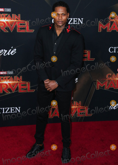 Algenis Perez Photo - HOLLYWOOD LOS ANGELES CA USA - MARCH 04 Actor Algenis Perez Soto arrives at the World Premiere Of Marvel Studios Captain Marvel held at the El Capitan Theatre on March 4 2019 in Hollywood Los Angeles California United States (Photo by Xavier CollinImage Press Agency)