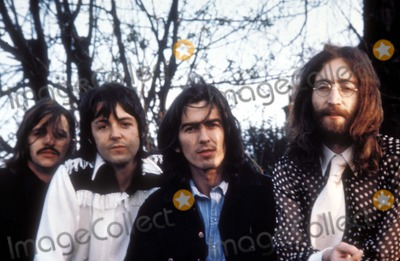 Photo - The Beatles Ringo Starr Paul Mccartney George Harrison and John Lennon Photo Supplied by Globe Photos