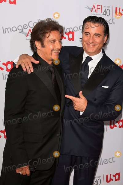 Any Garcia Photo - AL Pacino Any Garcia Actors 35th Afi Life Achievement Awards a Tribute to AL Pacino K53408 Photo by Graham Whitby Boot-allstar-Globe Photos