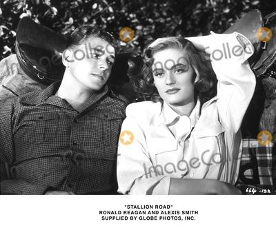 Alexis Smith Photo - Stallion Road Ronald Reagan and Alexis Smith Supplied by Globe Photos Inc