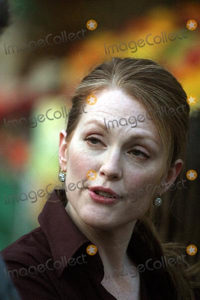 Julianne Moore,Pierce Brosnan,THE SET Photo - Archival Pictures - Globe Photos - 75866