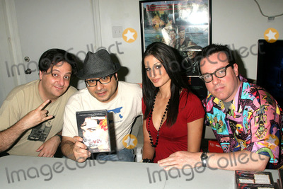Eric Fleming Photo - the Devils Muse Cast Dvd Signing of the Art Horror Cult Classic Film Spudics Movie Empire Van Nuys CA 050909 Eric Fleming Ramzi Abed Amie Nicole and Paul Bunnell Photo Clinton H Wallace-photomundo-Globe Photos Inc