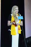 Avril Lavigne Photo - Canadian singer Avril Lavigne at 10th Huading Awards held in MacaoChina on Monday October 72013Credit Topphotoface to face- No rights for China and Taiwan -
