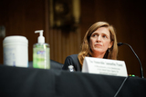 Foreigner Photo - Samantha Power nominee to be Administrator of the United States Agency for International Development listens to a question during her confirmation hearing before the Senate Foreign Relations Committee Tuesday March 23 2021Credit Greg Nash  Pool via CNPAdMedia