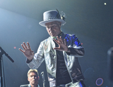 The Tragically Hip Photo - 16 August 2016 - Hamilton Ontario Canada  Gord Downie lead singer of Canadian rock band Tragically Hip performs on stage during Man Machine Poem Final Tour at the FirstOntario Centre  Photo Credit Brent PerniacAdMedia