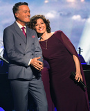 Amy Grant Photo - 27 September 2018 - Nashville TN Michael W Smith Amy Grant CMA Country Christmas held at Belmont Universitys Curb Event Center