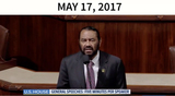 Al Green Photo - In this image from United States Senate television this is a graphic displayed by counsel to the President Jay Sekulow to show that calls for the Presidents impeachment came even before he took office as he makes his closing argument during the impeachment trial of US President Donald J Trump in the US Senate in the US Capitol in Washington DC on Monday February 3 2020Pictured is US Representative Al Green (Democrat of Texas)Mandatory Credit US Senate Television via CNPAdMedia