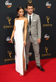 Annet Mahendru Photo - 18 September 2016 - Los Angeles California - Annet Mahendru Lucian Gibson 68th Annual Primetime Emmy Awards held at Microsoft Theater Photo Credit AdMedia