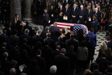 Alex Wong Photo - United States Representative Emanuel Cleaver (Democrat of Missouri) says a prayer during a memorial service for the late US Representative Elijah Cummings (Democrat of Maryland) at the Statuary Hall of the US Capitol October 24 2019 in Washington DC Rep Cummings passed away on October 17 2019 at the age of 68 from complications concerning longstanding health challenges Credit Alex Wong  Pool via CNPAdMedia
