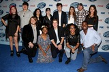 Alex Preston Photo - 20 February 2014 - West Hollywood California - Top 13 Finalists Alex Preston Ben Briley Caleb Johnson CJ Harris Dexter Roberts Emily Piriz Jena Irene Jessica Meuse Kristen OConnor Majesty Rose Malaya Watson MK Nobilette Sam Woolf Foxs American Idol XIII Finalists Party held at Fig  Olive Melrose Place Photo Credit F SadouAdMedia