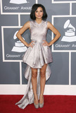Grammy Awards Photo - 13 July 2020 - Naya Rivera the actress best known for playing cheerleader Santana Lopez on Glee has been confirmed dead Rivera 33 is believed to have drowned while swimming in the lake with her 4-year-old son who was found asleep on their rental pontoon boat after it was overdue for return 13 February 2011 - Los Angeles California - Naya Rivera The 53rd Annual GRAMMY Awards held at Staples Center Photo Credit AdMedia