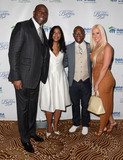 Amanda D Photo - 14 October  2015 - Beverly Hills California - Earvin Magic Johnson Cookie Johnson Tommy Daivdson Amanda Davidson Habitat for Humanity of Greater Los Angeles Builders Ball celebrates 25 years of service held at Beverly Wilshire Hotel Photo Credit Birdie ThompsonAdMedia