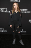 Alyssa Jirrels Photo - 29 September 2017 - Buena Park California - Alyssa Jirrels 2017 Knotts Scary Farm Celebrity Night held at Knotts Berry Farm Photo Credit F SadouAdMedia