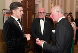 Brandy Photo - 12032020 - Prince Charles Prince of Wales meets guests with the High Commissioner for Australia George Brandis (R) as they attend a dinner in aid of the Australian bushfire relief and recovery effort at Mansion House in London Photo Credit ALPRAdMedia