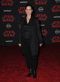 Carrie Anne Moss Photo - 09 December  2017 - Los Angeles California - Carrie Anne Moss Premiere Of Disney Pictures And Lucasfilms Star Wars The Last Jedi held at The Shrine Auditorium  in Los Angeles Photo Credit Birdie ThompsonAdMedia