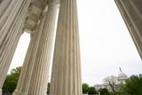 Supremes Photo - The United States Capitol is seen from the steps of the United States Supreme Court in Washington DC US on Sunday April 19 2020  Credit Stefani Reynolds  CNPAdMedia