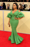 Niecy Nash Photo - 21 January 2018 - Los Angeles California - Niecy Nash 24th Annual Screen Actors Guild Awards Arrivals held at the Shrine Auditorium in Los Angeles Photo Credit AdMedia